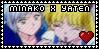 Minako x Yaten stamp by SweetTails247
