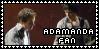 Adamanda stamp by SweetTails247