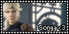 Sonya Fan stamp by SweetTails247
