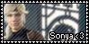 Sonya Fan stamp by SweetTails247