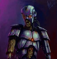 Robot-zombie by abzac666