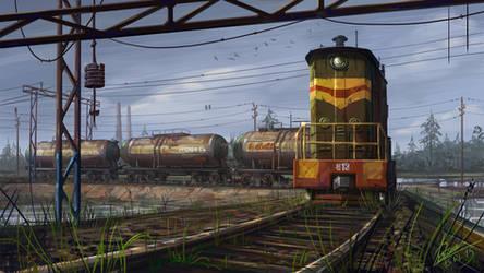 Train... by abzac666