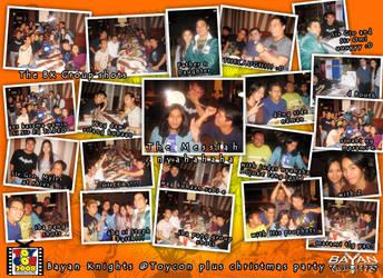 BK Xmass party plus toycon by TeardropTC