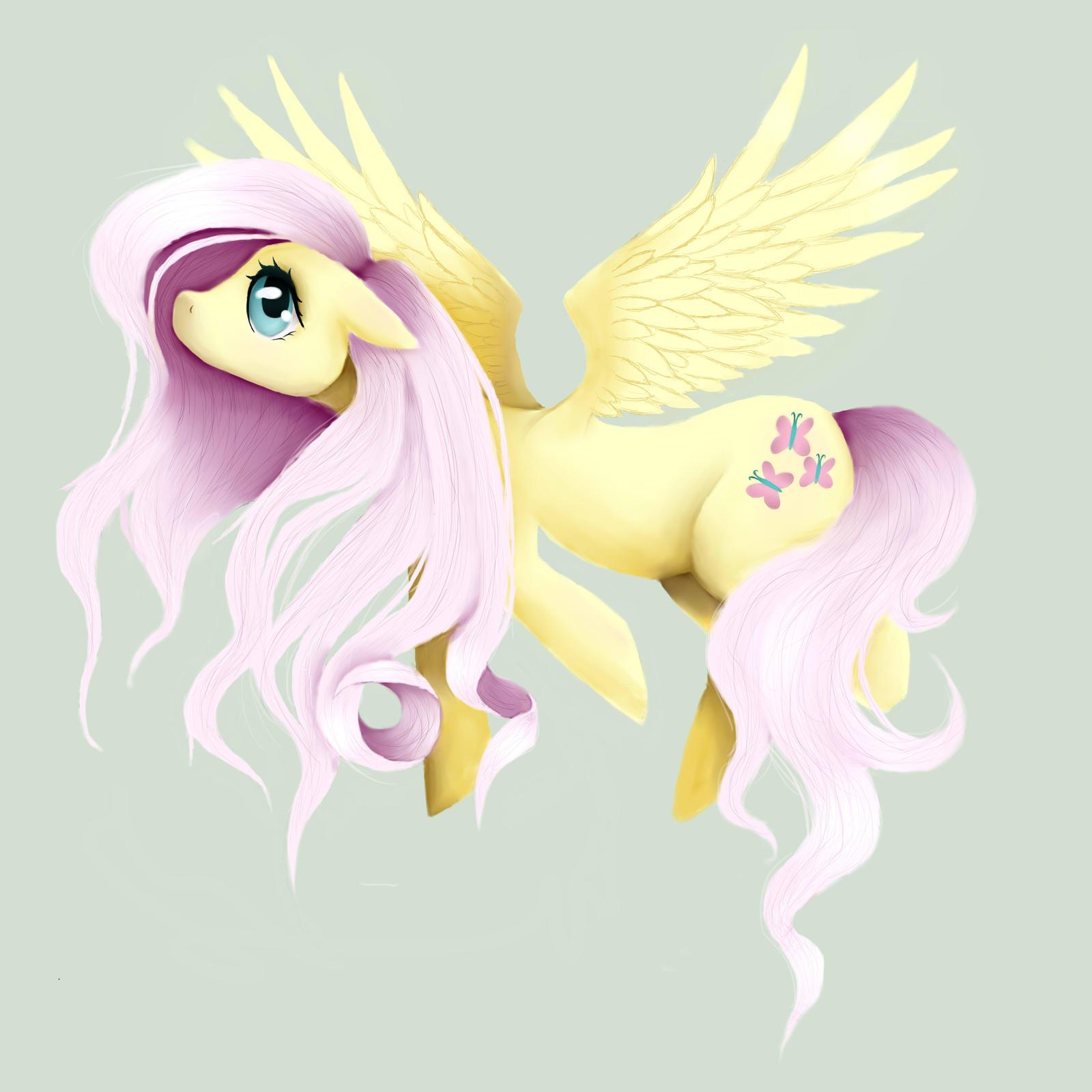 Fluttershy by BlondieGurl1129