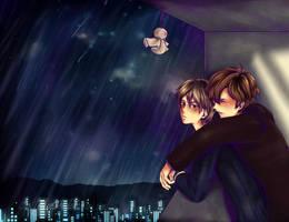 On a rainy by NekoStrife