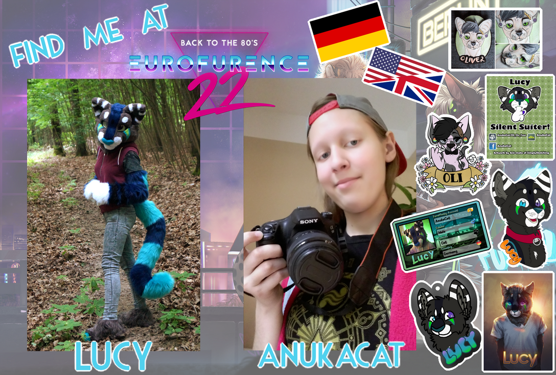 FIND ME AT EF22 by AnukaCat