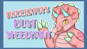 YOUTUBE   Speedpaint   Triceratops