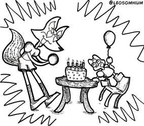 Fucsia's Happy Birthday