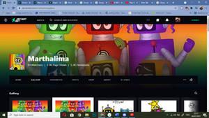 Marthalima's New Profile (Laptop)