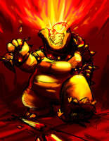 Bowser's Rage by tRickityhouses