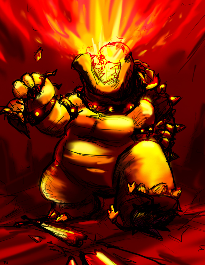 Bowser's Rage by tRickityhouses on DeviantArt