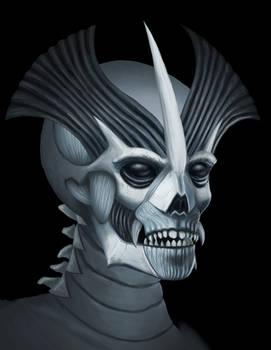Alien Undead Head