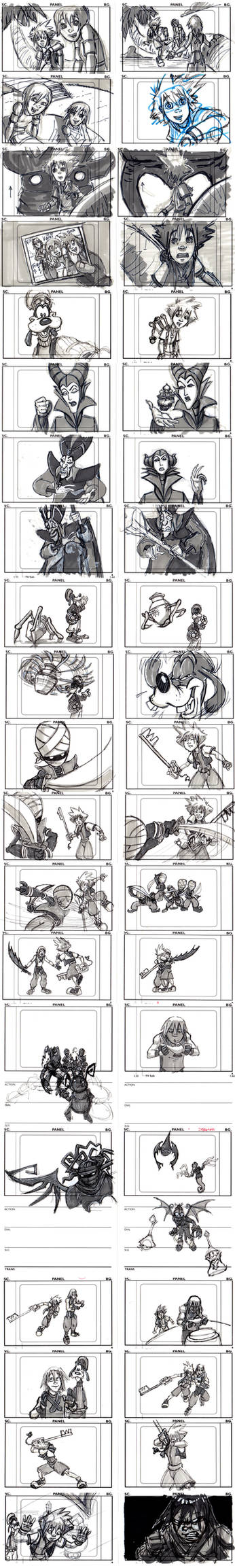 Kingdom Hearts Pilot Board