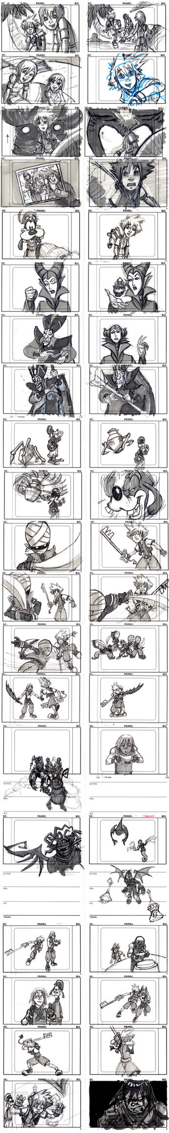 Kingdom Hearts Pilot Board by SethKearsley