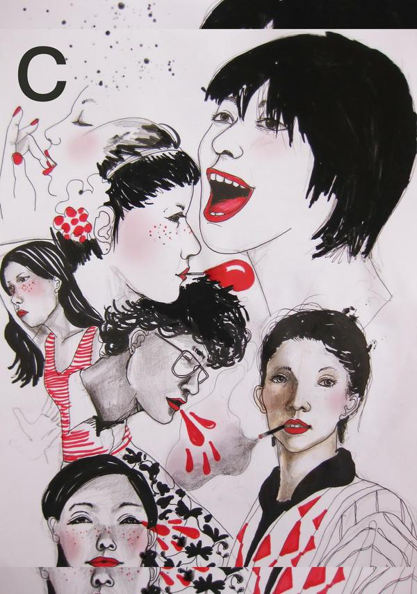 women by monyetbuluk