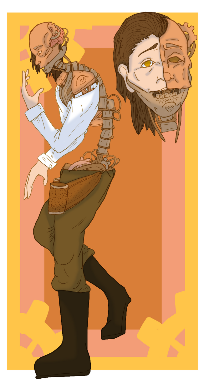Character art Trade by Synkat