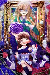Don't look back , I'll be okay - IB Fanart by Daikazoku63