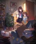 The Old Room - Speedpaint Video #12 by Daikazoku63