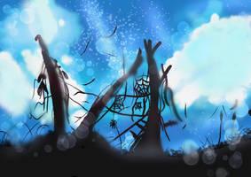 Starry Night Sky by Gryffindor0726