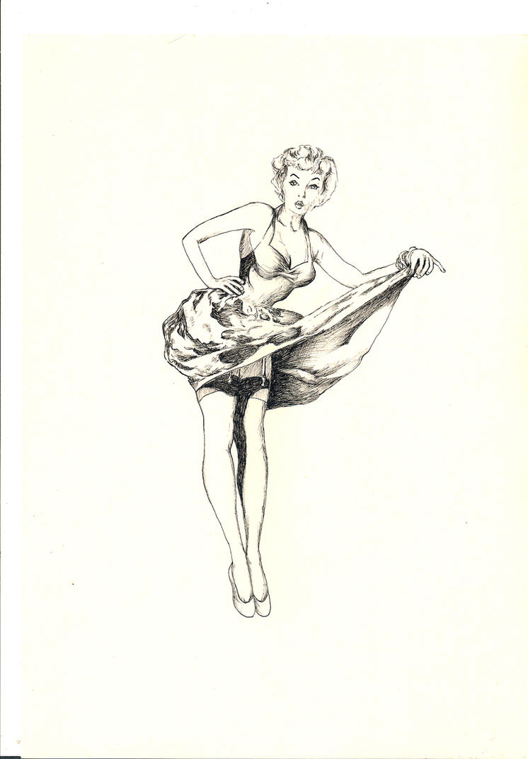 50s pin up girl tattoo by thefranology on deviantart