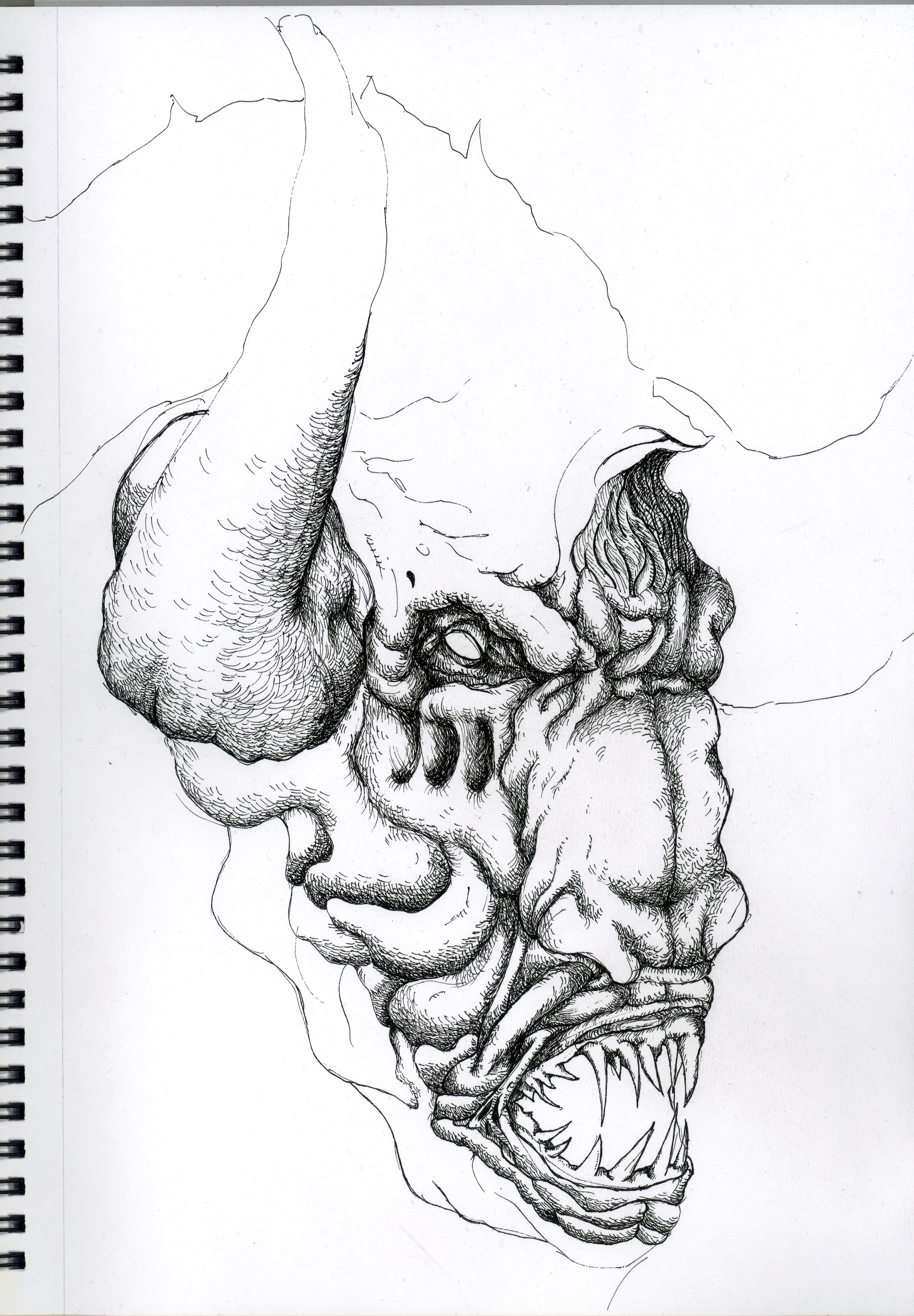 Minotaur Head Wip Extended Project work by TheFranology on ...
