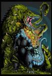 Godzilla vs Biollante Colour