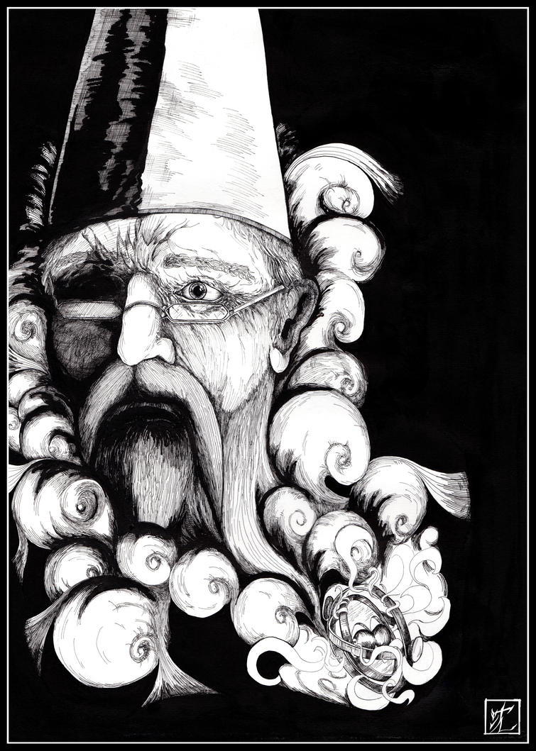 Dumbledore by TheFranology