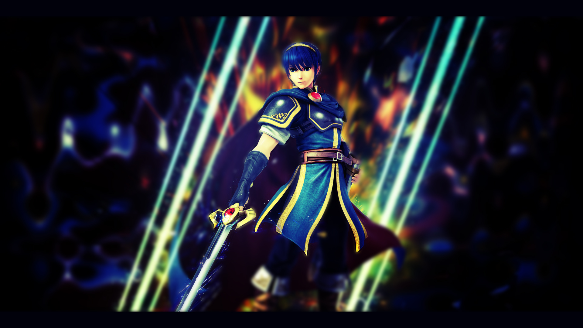 marth the hero king wallpaper by pato miguel on deviantart