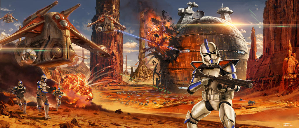 Image result for battle of geonosis
