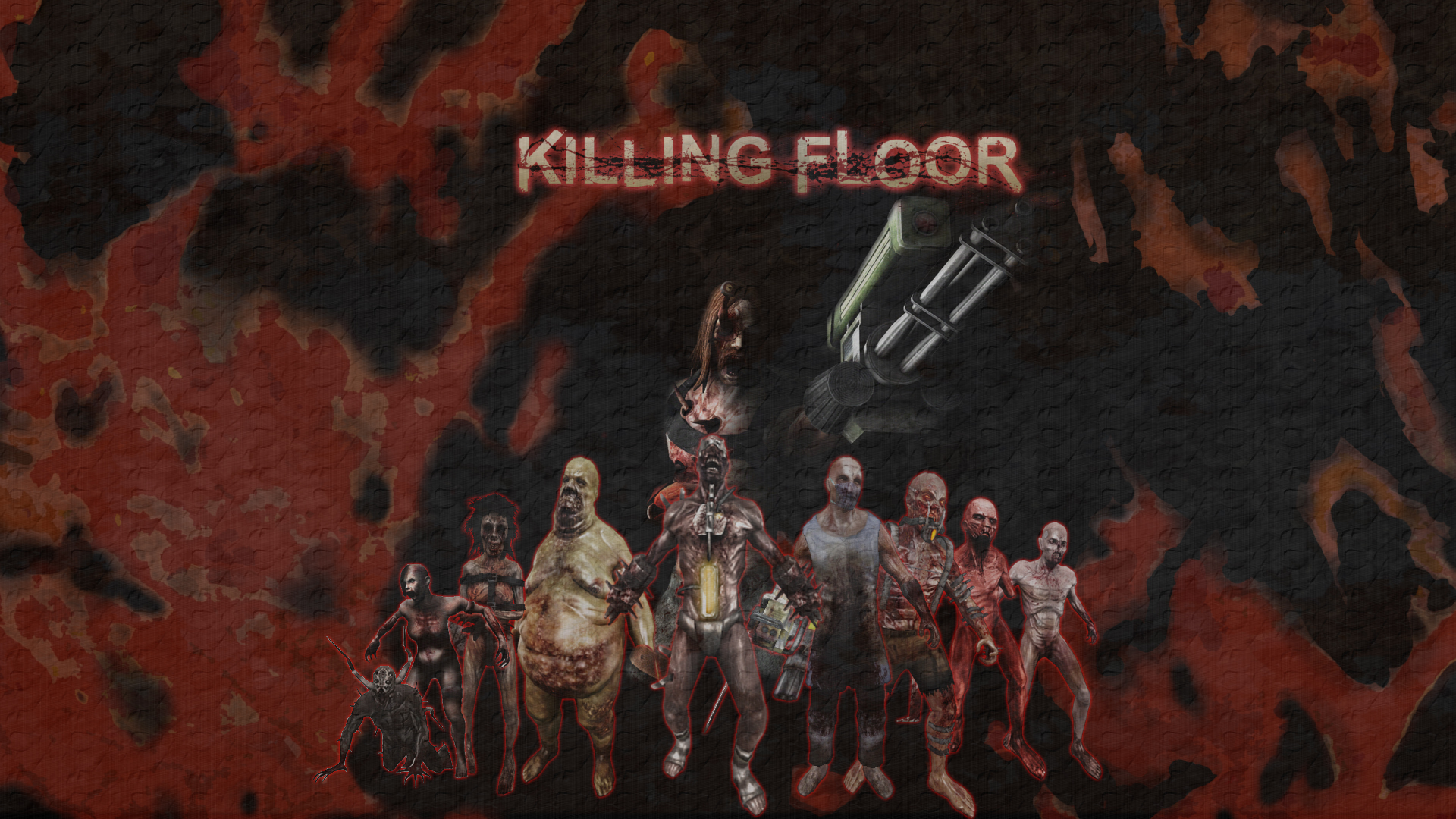 Killing Floor Specimens Wallpaper By DremoraValkynaz On