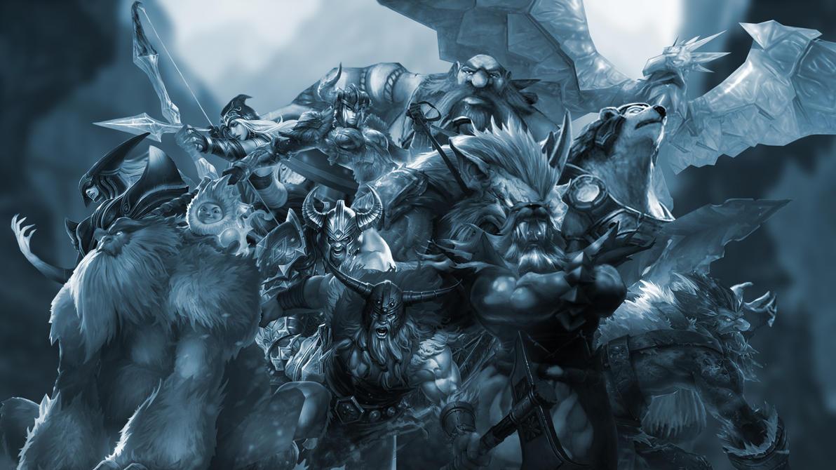 Warriors of The Freljord by DremoraValkynaz on DeviantArtLeague Of Legends Freljord Champions