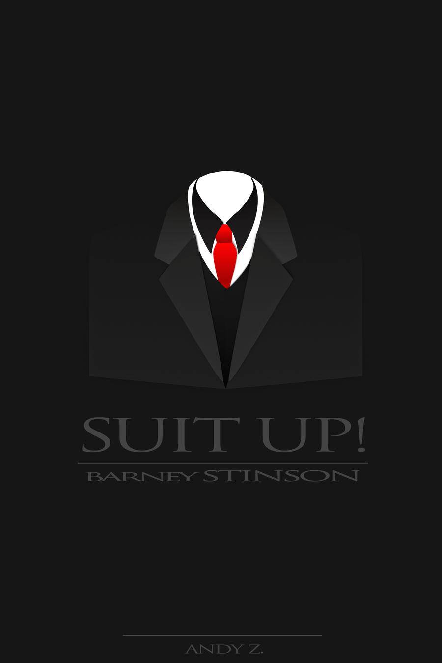 Suit up by xAzD on DeviantArt