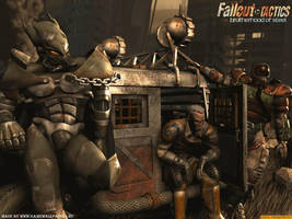 Fallout tactics brotherhood of steel wallpaper by Nukacola4life