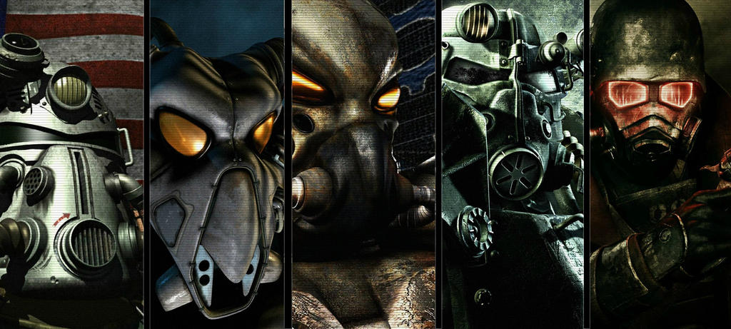 fallout series wallpaper by Nukacola4life