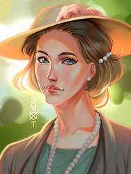 Madge Lytton commission by Smoxt
