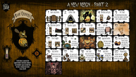 Don't Starve Calendar Guide - A New Reign (2) by ElderWraith
