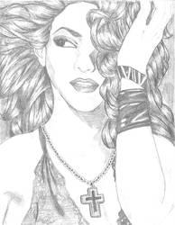 Shakira by RedLittleGirl