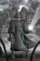 Dredd on the Case by TomBerryArtist