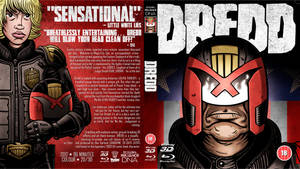 DREDD Custom Blu Ray Cover by TomBerryArtist