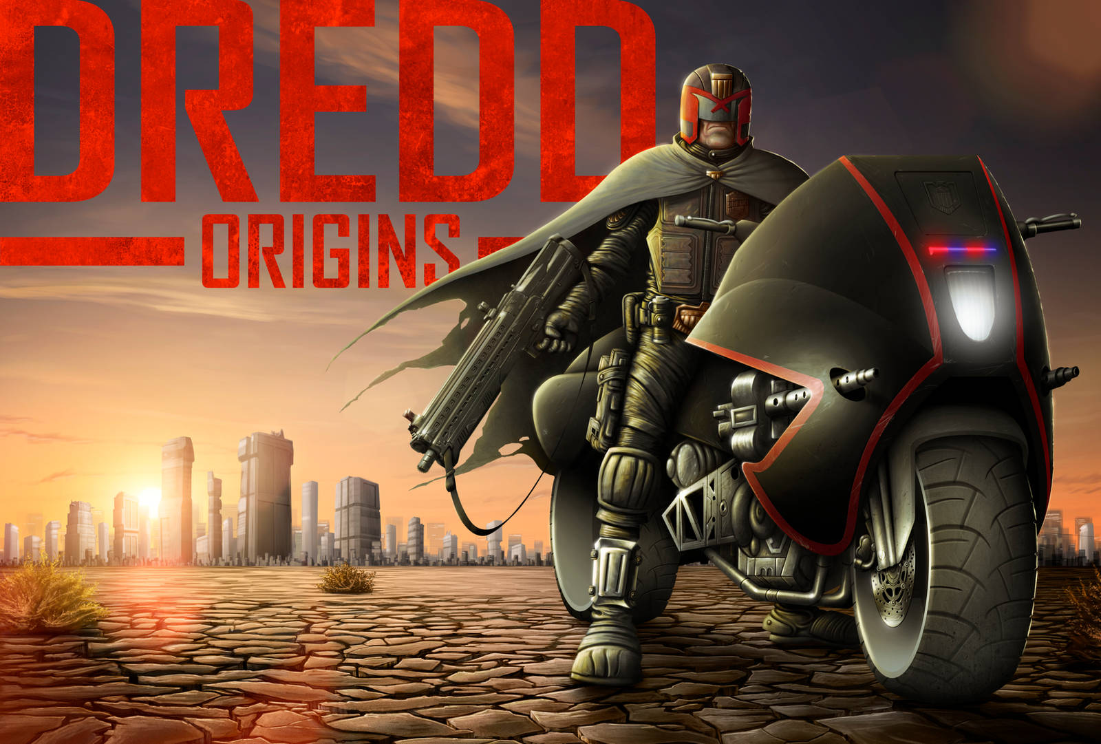 Dredd: Origins - A Sequel Concept Poster by TomBerryArtist