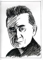 DF - Portraits - Johnny Cash by JustinGreene
