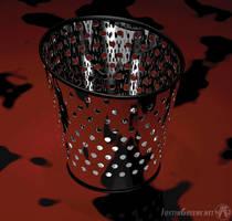 3D Modeling - Trash Can by JustinGreene