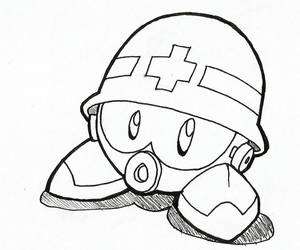 Metall - Mega Man / Rockman (Inktober)