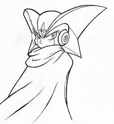 Forte/Bass.EXE (Mega Man/Rockman) (Inktober)