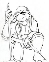 Future Raph - Archie TMNT (Inktober)