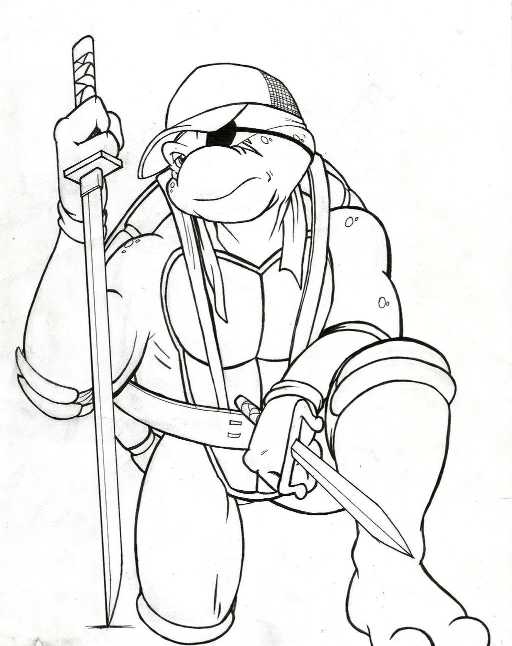 Future Raph - Archie TMNT (Inktober) by JustinGreene