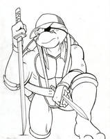 Future Raph - Archie TMNT (Inktober) by JustinGreene
