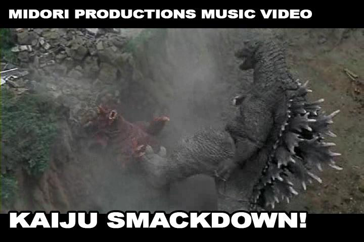 Music Video - Kaiju Smackdown by JustinGreene
