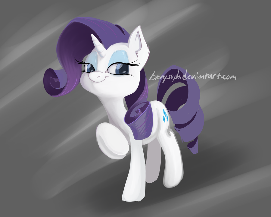 Rarity by bronyseph