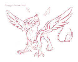 *angry griffon noises by bronyseph
